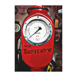Eco Tireflator air meter Gallery Wrapped Canvas