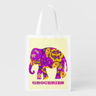 eco tote bag,,EDIT BACKGROUND color and TEXT Reusable Grocery Bags