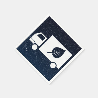 Eco Trucks Graphic Standard Cocktail Napkin