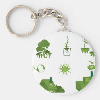 eco-vectors-10108-large keychain