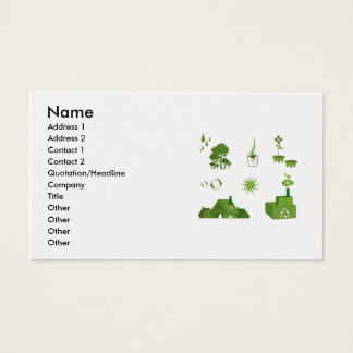 eco-vectors-10108-large, Name, Address 1, Addre... Business Card