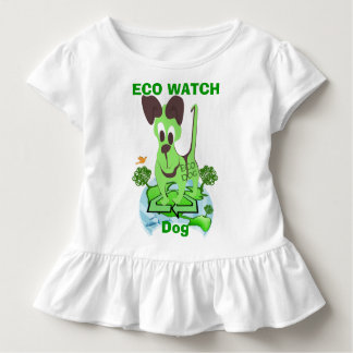 ECO WATCH DOG TODDLER T-SHIRT