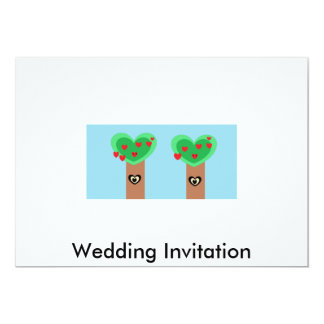 Eco Wedding Card