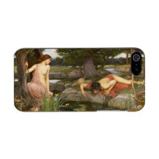 Eco y narciso de John William Waterhouse Funda Para iPhone 5 Incipio Feather Shine