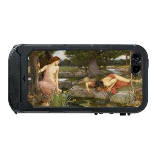 Eco y narciso de John William Waterhouse Carcasa De Iphone 5 Incipio Atlas Id