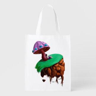 Ecobag Mushroom Reusable Grocery Bag