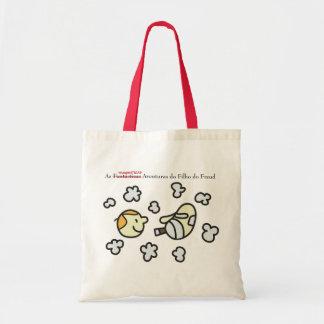Ecobag Son of the Freud Cabeças and Fumaças Tote Bag
