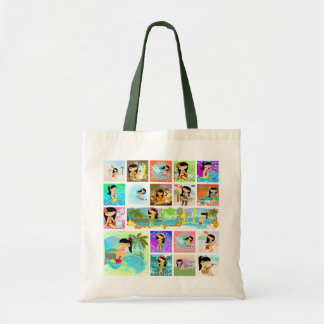 Ecobag TropoGirl Tote Bag