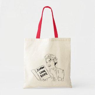 Ecobag Zombie Cook Book Tote Bag