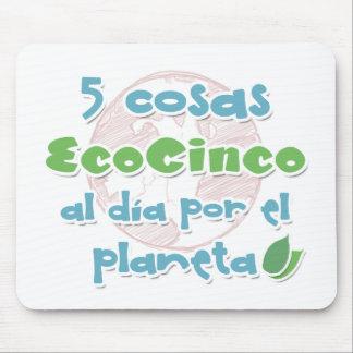 EcoCinco - Una iniciativa por el planeta Tapetes De Ratón