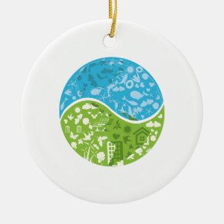 Ecofriendly Ceramic Ornament