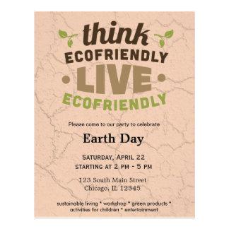 Ecofriendly Flyer