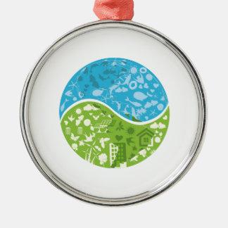 Ecofriendly Metal Ornament