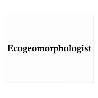 ecogeomorphologist postcard