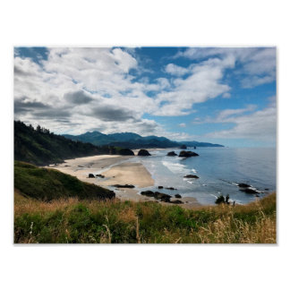 Ecola State Beach Poster