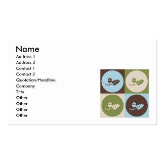 Ecología del arte pop tarjetas de visita