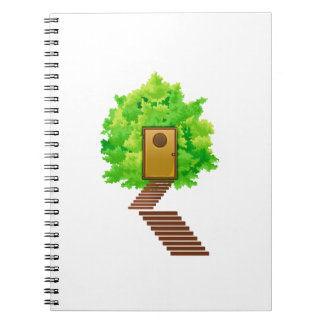ecología image.png de las escaleras de la puerta d libro de apuntes con espiral