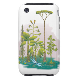 Ecología: plante un árbol - carcasa though para iPhone 3