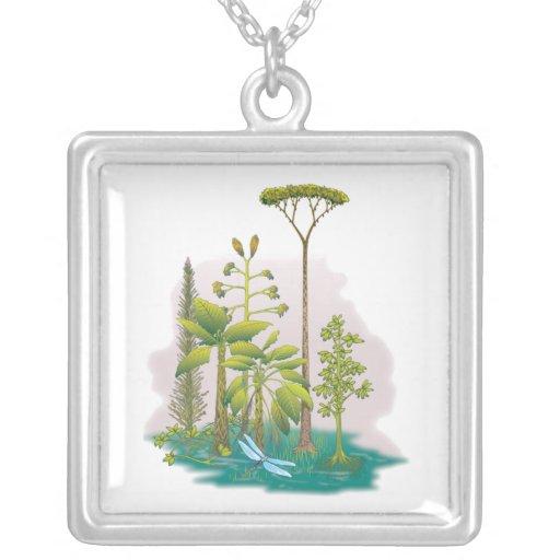 Ecología: plante un árbol - pendiente personalizado