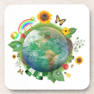 Ecología: recicle - apoyavasos