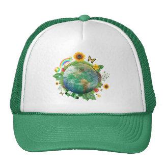 Ecología: recicle - gorros
