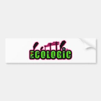 ecologic bumper stickers