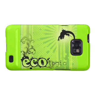Ecologic Causes Environment Awareness Gecko green Samsung Galaxy S2 Covers