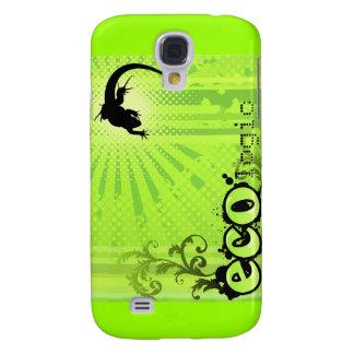 Ecologic Causes Environment Awareness Gecko green Samsung Galaxy S4 Cover