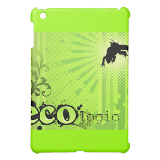 Ecologic Causes Environment Awareness Gecko green iPad Mini Cases