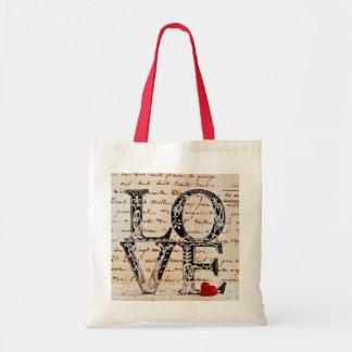 """Ecological bag feminine """"LOVE """""""