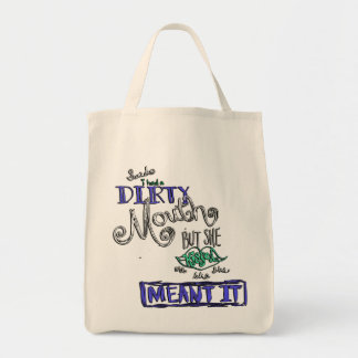 """Ecological bag """"Saido i had dirty… """""""