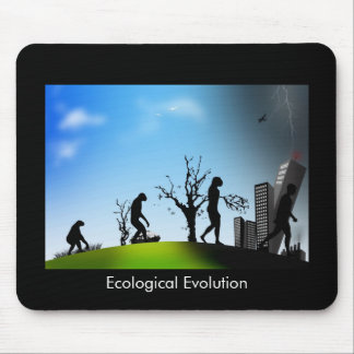 Ecological Evolution Mouse Pad