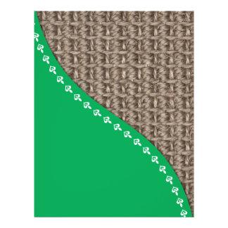 Ecological friendly design flyer