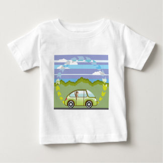 Ecological Green car self-driving Baby T-Shirt