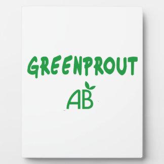 Ecological Greenprout Plaque