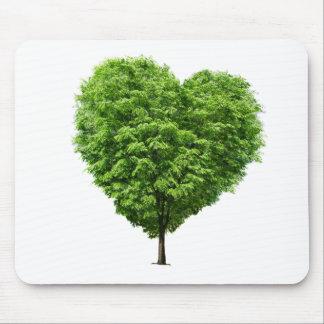 ecological heart mousepads