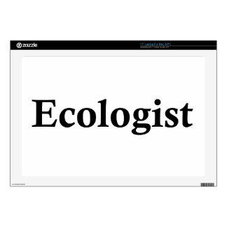 "Ecologist Decal For 17"" Laptop"