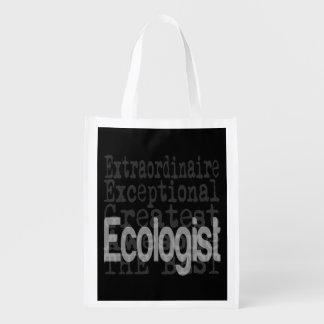 Ecologist Extraordinaire Grocery Bag