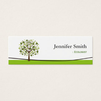 Ecologists business cards templates zazzle ecologist wishing tree of hearts mini business card colourmoves Images