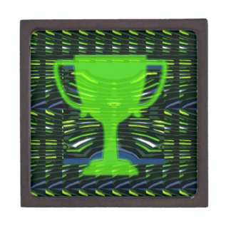 Ecologista del verde del trofeo del ganador