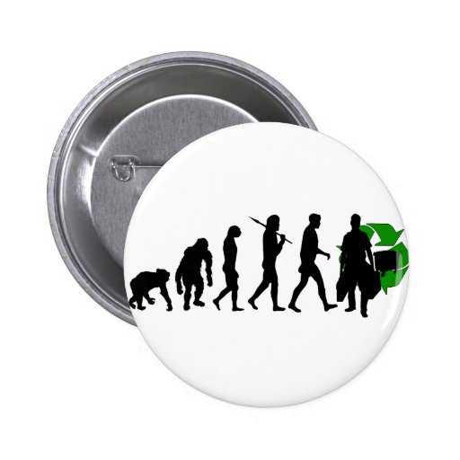 Ecologists environmental crusaders gear 2 inch round button