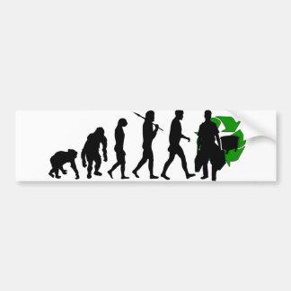 Ecologists environmental crusaders gear bumper sticker