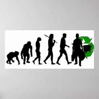 Ecologists environmental crusaders mens work poster