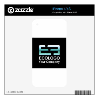 Ecologo Vector Company Vector Decals For iPhone 4S