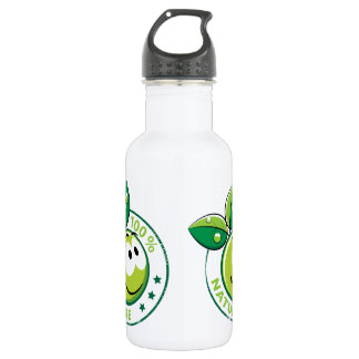 Ecology : 100 % nature - 18oz water bottle
