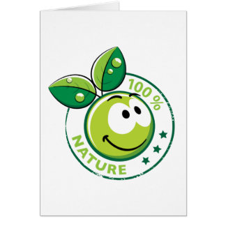 Ecology : 100 % nature - card