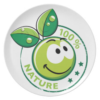 Ecology : 100 % nature - party plates
