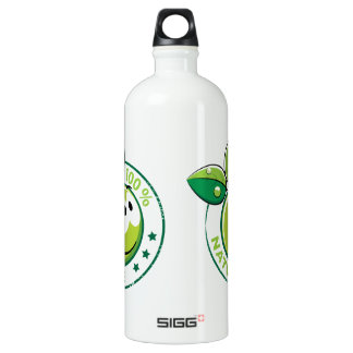 Ecology : 100 % nature - water bottle