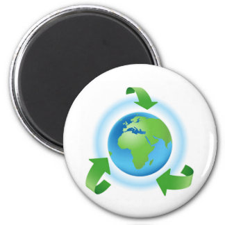 ecology 2 inch round magnet