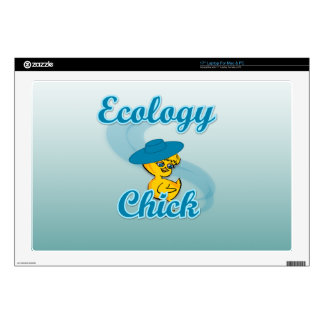 Ecology Chick #4 Decal For Laptop
